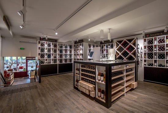 Partie supérieure de la Maison du Vin de Blaye