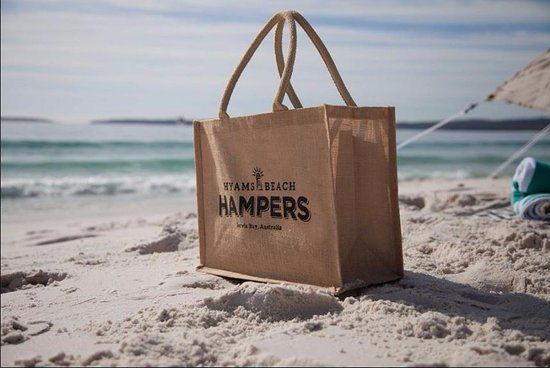 Hyams Beach Picnic - filled with some of the region's best products and produce.