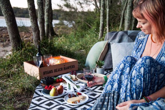 Hyams Beach, Australia: Picnics, hampers and beach huts can also be delivered directly to your accommodation if you'd li