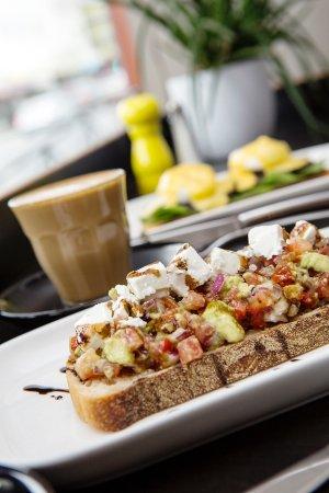 Belmont, Австралия: Avocado bruschetta