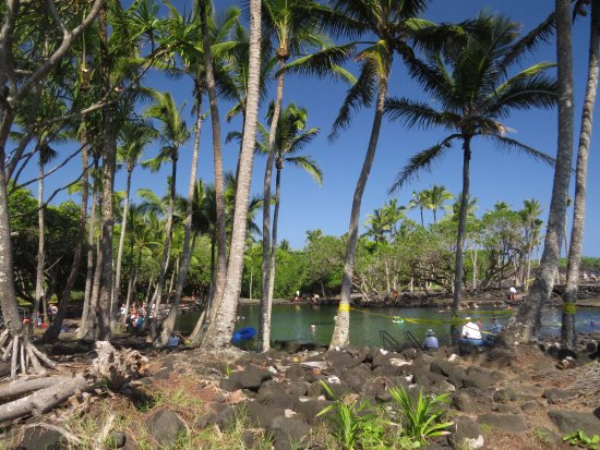 Pahoa, هاواي: Warm pools