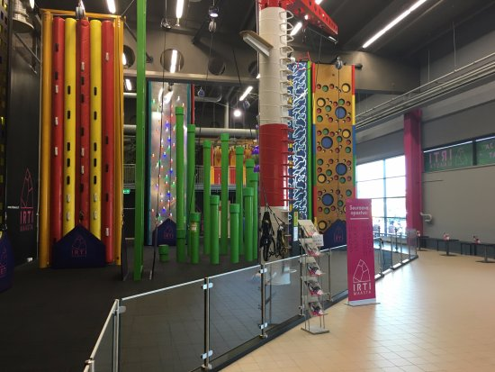 Райсио, Финляндия: Climbing arena is located in the shopping center Mylly