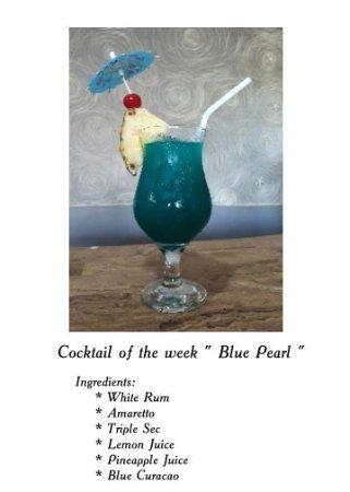 Pearl Restaurant at Linaw Beach Resort: BLUE PEARL