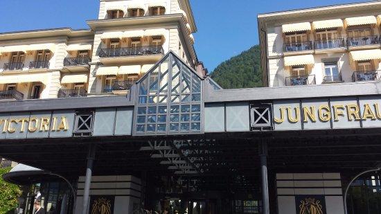 Belle Epoque Hotel Victoria : 維多利亞美好時代酒店位於因特拉肯市中心