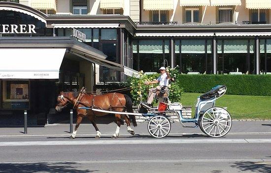 Belle Epoque Hotel Victoria : 氣氛很好