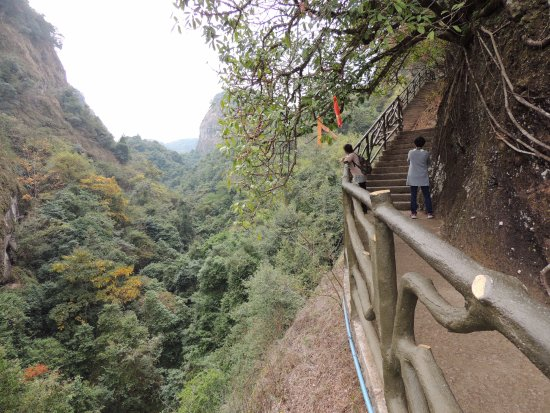 Pingyuan County, China: 徒步欣賞自然風景