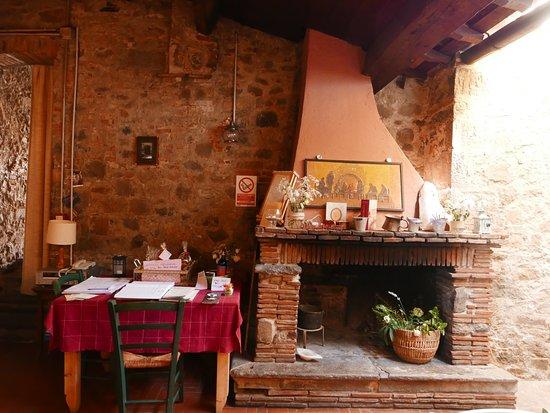 Capannori, Italia: Il caminetto