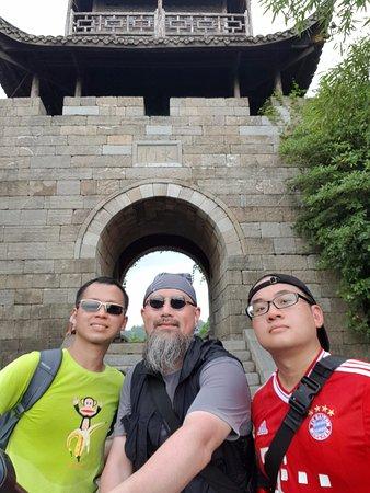 Fenghuang County, China: Goodbye Miaojiang Southen Great Wall.
