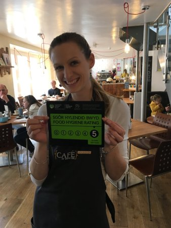 Crickhowell, UK: Our 5* food hygiene rating