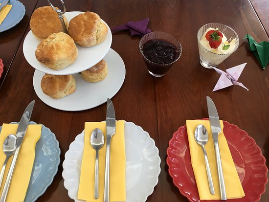 Crickhowell, UK: Cream Tea