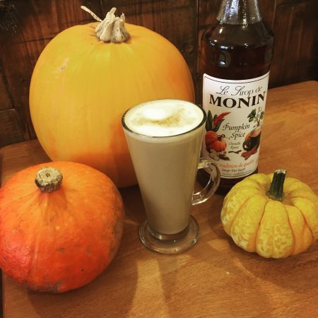 Crickhowell, UK: Pumpkin Spice latte