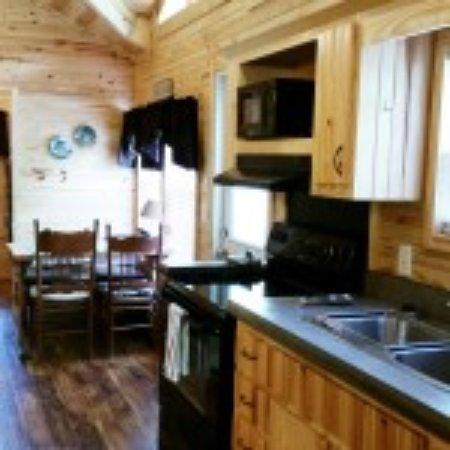 Alderson, Wirginia Zachodnia: Rental cabin interior
