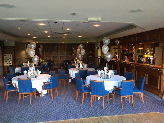 Alderley Edge, UK: Celebration party at AEGC