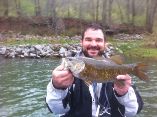 Alderson, WV: Small mouth bass fishing is king