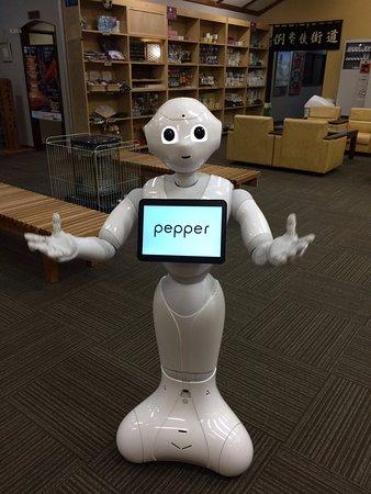 نيكو توكانسو: Pitiful, Pepper not programmed to speak English :-)