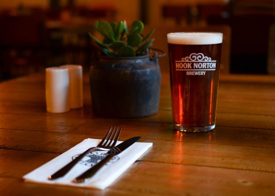 Hook Norton, UK: Beer and food matching