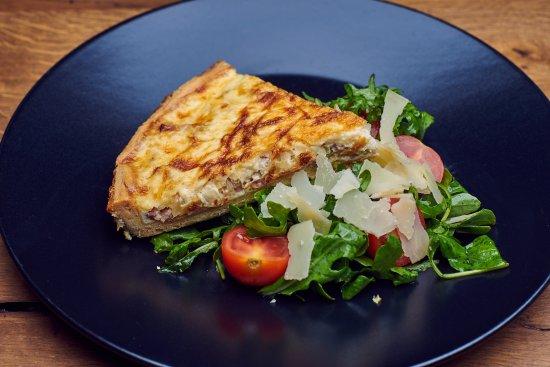 Brasserie 41: Our special quiche lorraine