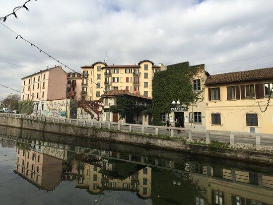 Barrio Navigli: Vista