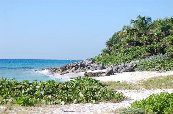 Viva Wyndham Maya - An All Inclusive Resort : plage à coté de l'hôtel Viva Wyndham Maya
