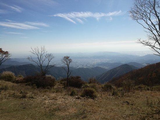 Mt. Nabewari: 秦野市内方向もいい景色