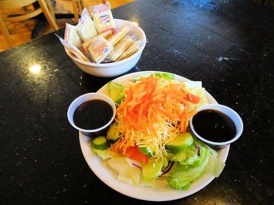 Oxford, NC: side salad