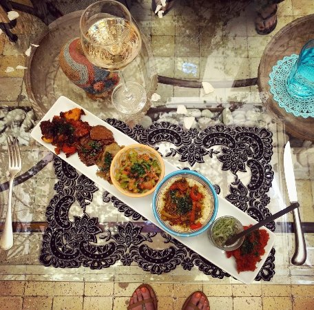 House of Fusion Marrakech: Our final dishes (we already ate one!)