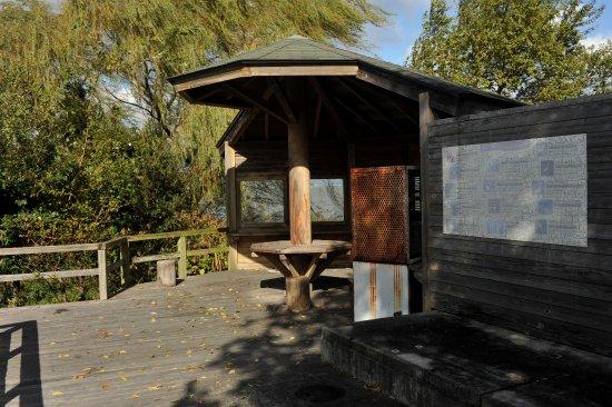 Tamano, Japonia: 水鳥観察施設があった