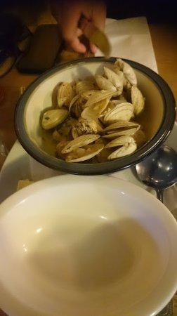 Kilcolgan, Irland: Almejas en salsa