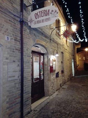 Ortezzano, İtalya: Osteria La Rosa Dei Venti