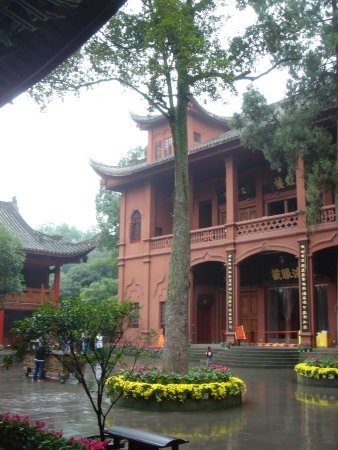 Leshan, China: The great temple