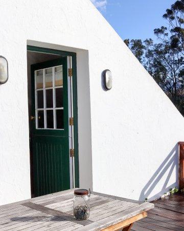 McGregor, Sudáfrica: Entrance to the loft studio