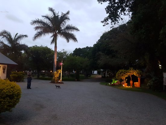 Musina, Güney Afrika: Entrance& Reception - Baobab Chalets