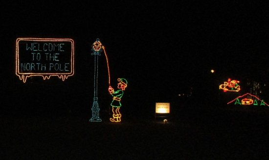 Huntsville Botanical Garden: Light Display