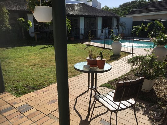 Balcony - Picture of Howard's End Manor, Pinelands - Tripadvisor