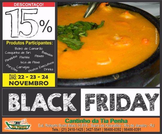 Restaurante Cantinho Legal Da Tia Penha: Vem aí a melhor Black Friday de Frutos do Mar! 😍 Não vai perder, né?! #vemprotiapenha