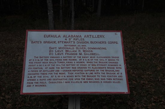 Fort Oglethorpe, GA: Chickamauga Battlefield Images