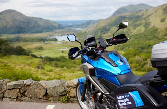 Breathtaking views in the Irish countryside brought to you by Belfast Motorcycle Rentals