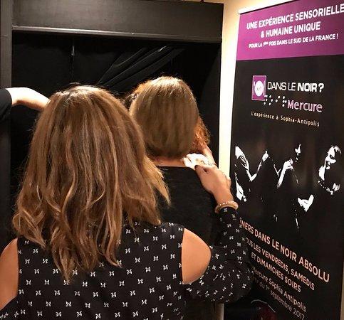 Sophia Antipolis, Frankrig: Entrée dans la salle noire
