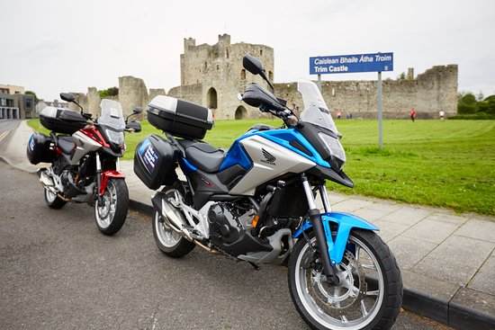 Moira, UK: Trim Castle during Belfast Motorcycles tour in Ireland