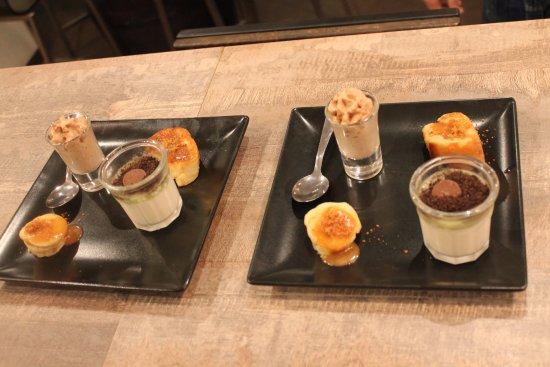 Levallois-Perret, Frankrijk: farandole de desserts pour deux