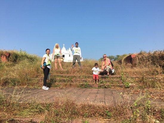 Benaulim, India: A walking break