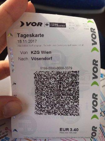 Voesendorf, Österrike: Extra Ticket to SCS