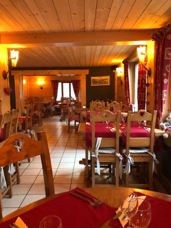 Divonne-les-Bains, ฝรั่งเศส: Salle à manger