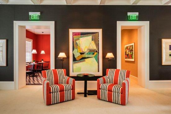 Aurora, NY: Living Room