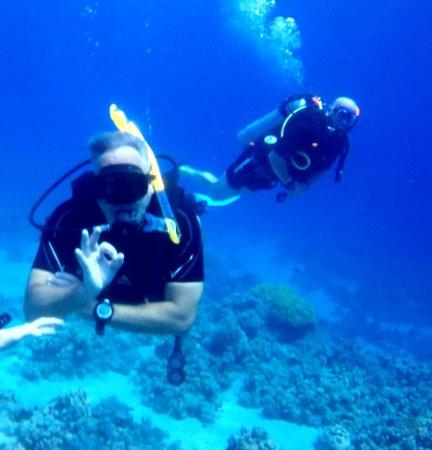 Diving Ocean Makadi Bay: Tauchgang