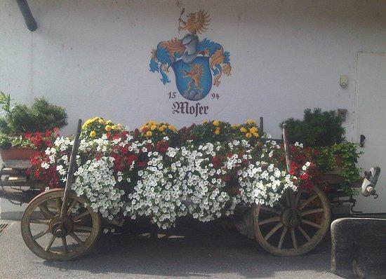Naturno, Italia: carro floreale