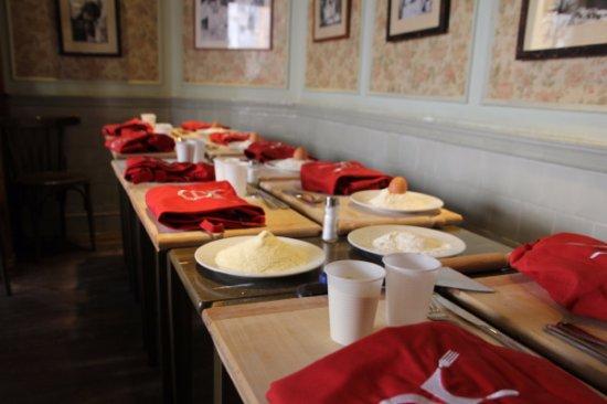 Cours De Cuisine Au Restaurant La Pasta Picture Of - Cours de cuisine rome