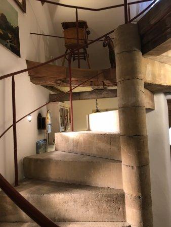 Kobern-Gondorf, Alemania: Treppe zur ersten Etage