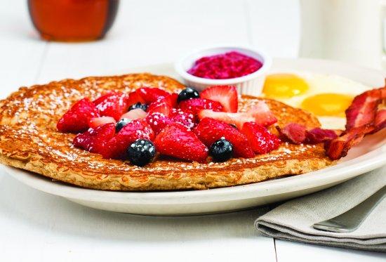 Windsor, CO: Oatmeal Pancake.