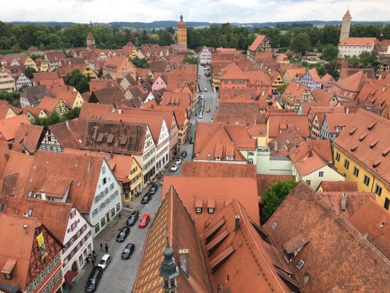 Dinkelsbühl from the bell tower